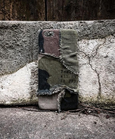 Various camouflage patchwork iPhone case