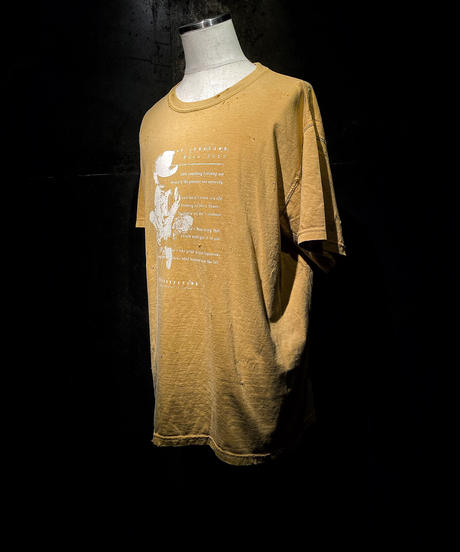 CAN OVERCOME TOUR2020 Tee (Old yellow)
