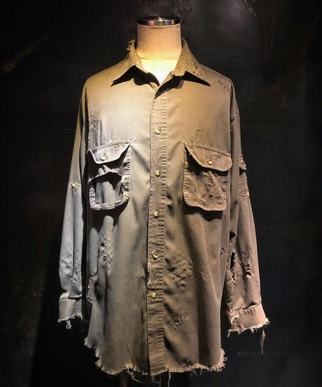 Damage military shirt