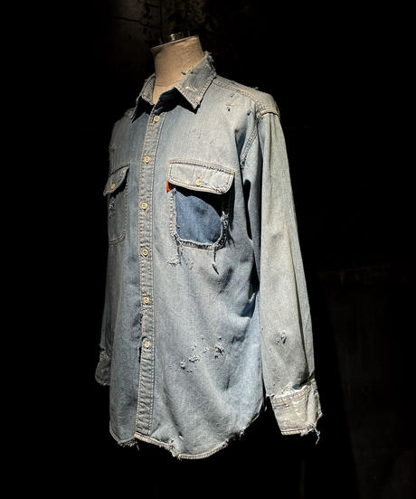 KIYOHARU × RESURRECTION Denim shirt #6