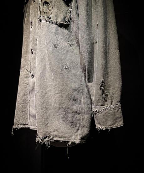 Vintage damage germany military shirt