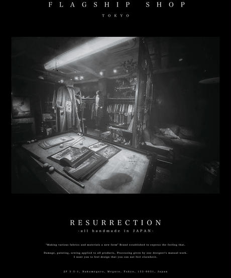 RESURRECTION Poster TYPE : FLAGSHIP SHOP