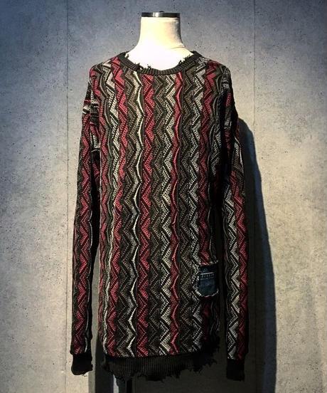 Different fabrics Sewn Knit