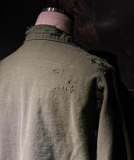 Damage vintage military shirt #2