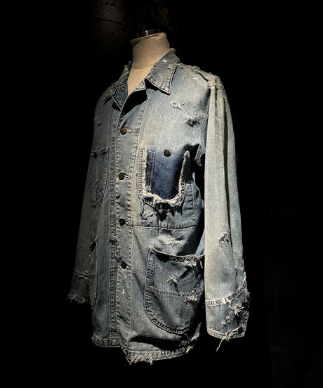 KIYOHARU × RESURRECTION Denim coverall jacket #3