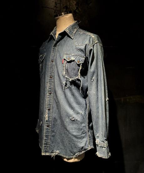 KIYOHARU × RESURRECTION Denim shirt #12