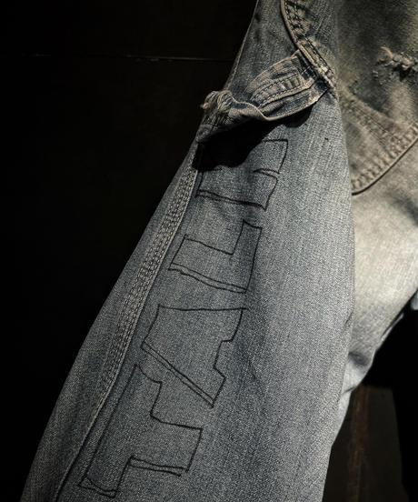 KIYOHARU × RESURRECTION painter denim pants #3