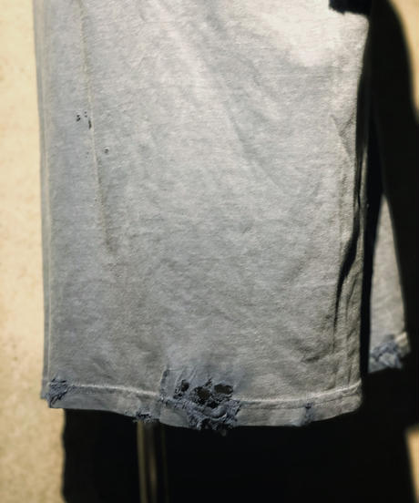 Vintage dye damage T-shirt (Old navy)
