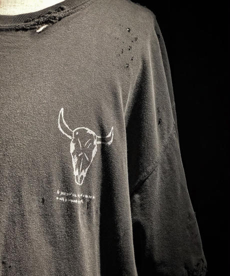 Buffalo bone T-shirt OLD BLACK