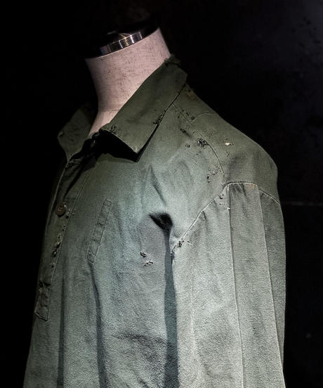 Military vintage damage shirt