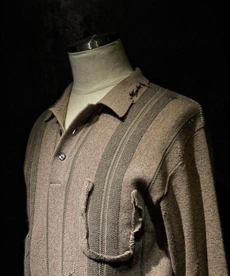 Damage vintage polo shirt