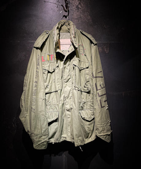 KIYOHARU × RESURRECTION M-65 Field Jacket #12