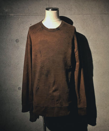 Vintage damage sweat shirt