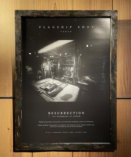 RESURRECTION Poster 8枚+フレームSET ※50点限定