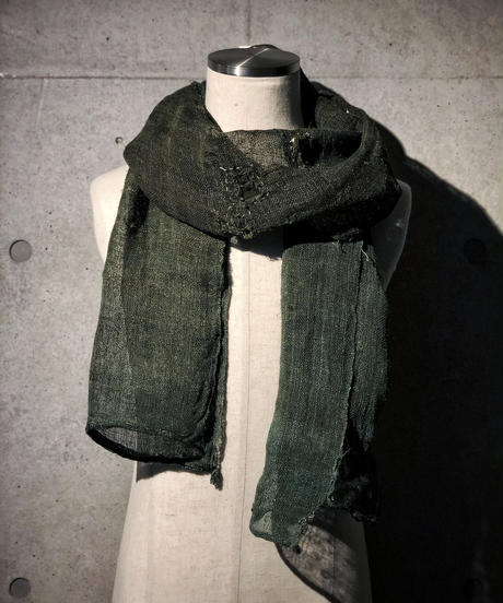 Damage khaki stole (襤褸)