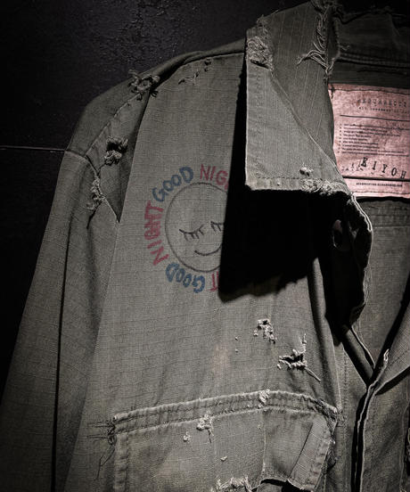 KIYOHARU × RESURRECTION Fatiegue Jacket #4