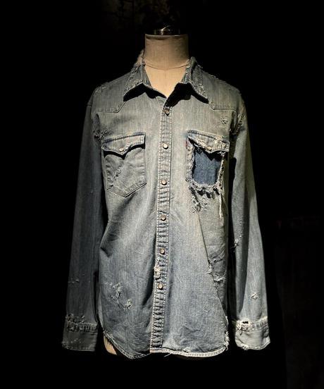 KIYOHARU × RESURRECTION Denim shirt #11