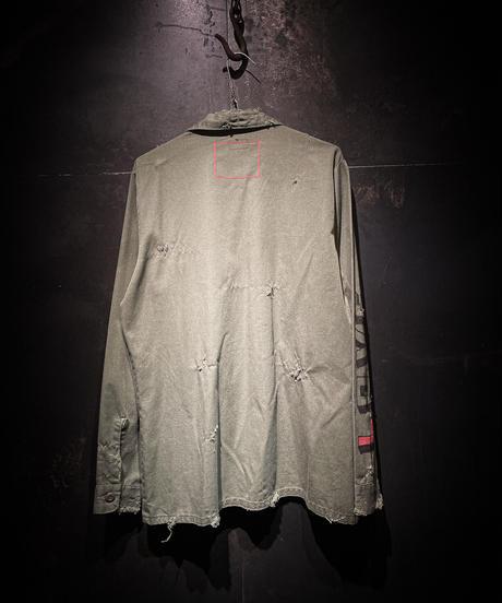 KIYOHARU × RESURRECTION Utility Shirt #19