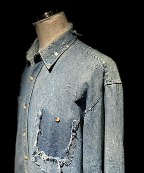 KIYOHARU × RESURRECTION Denim shirt #1