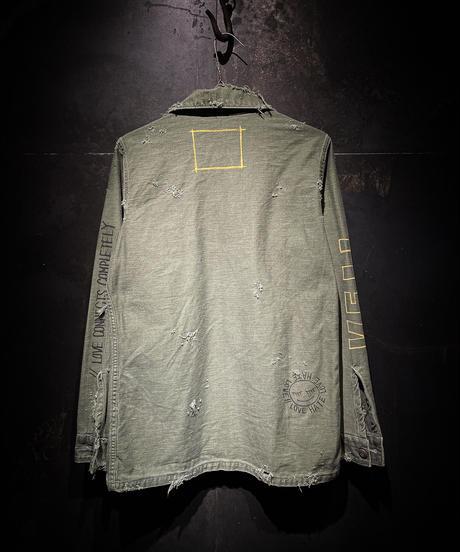 KIYOHARU × RESURRECTION Utility Shirt #10