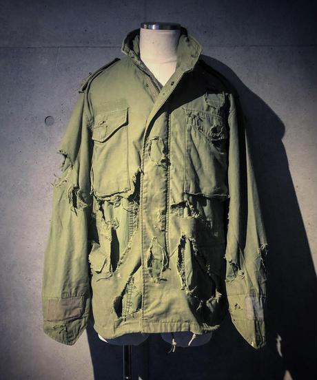 Hard damage M-65 jacket