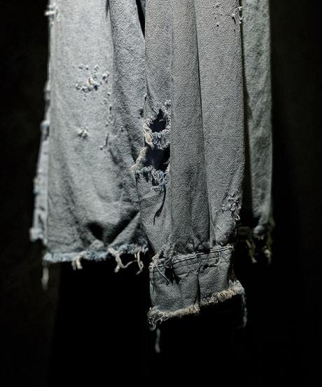Vintage damage chambray shirt