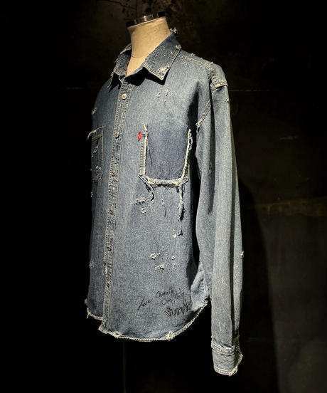 KIYOHARU × RESURRECTION Denim shirt #8