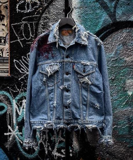 """Graffiti Art Denim Jacket """"Artist"""""""