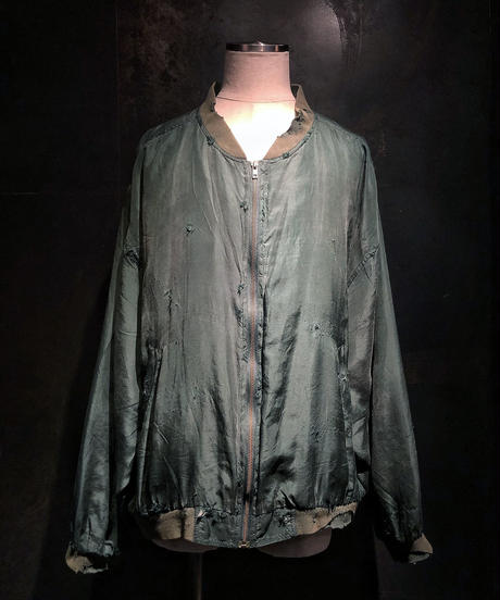 Damage vintage military blouson (KHAKI)