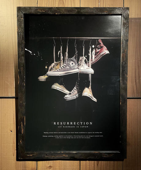 RESURRECTION Poster TYPE : KICKS