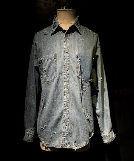 KIYOHARU × RESURRECTION Denim shirt #4