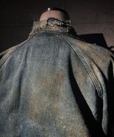 Denim rider's  jacket