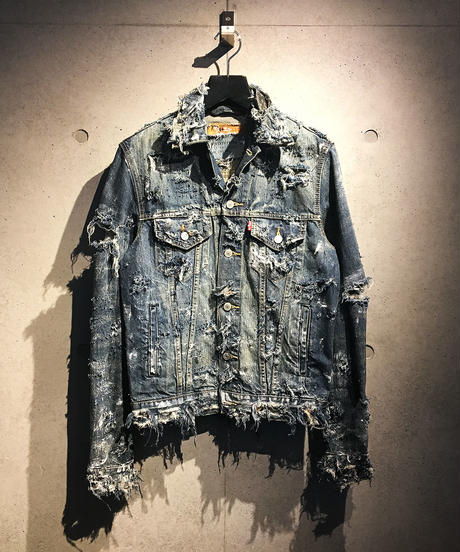 Destroy Crash Damage Denim Jacket