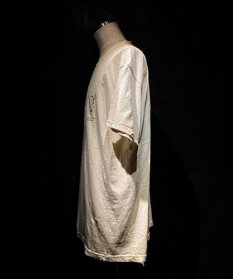 Buffalo bone T-shirt OLD WHITE