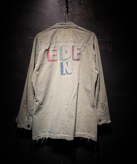 KIYOHARU × RESURRECTION Fatiegue Jacket #3