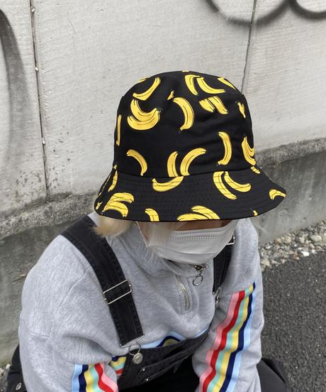 バナナ柄バケハ(NO.C10018)