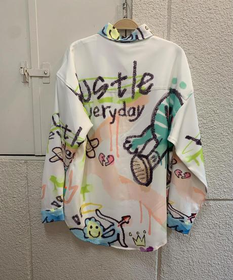 カラフルキャラクターシャツ(NO.5206)