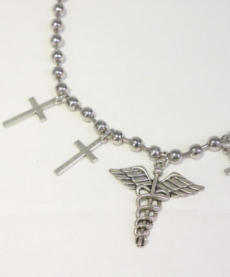 十字架ボールチェーンネックレス(NO.A10121)