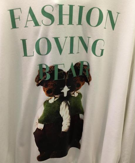 fashion loving bearフーディ🐻(NO.3662)