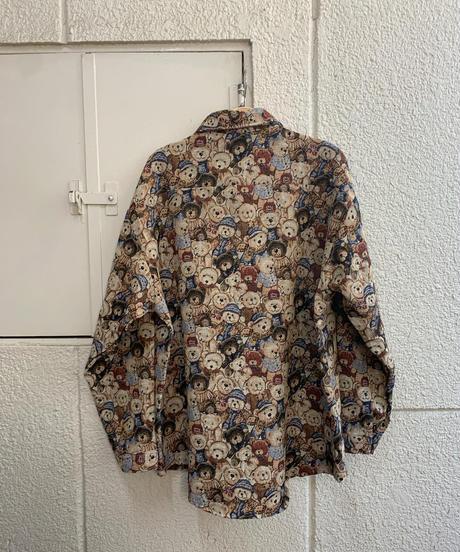 熊さん厚手シャツ(NO.5350)