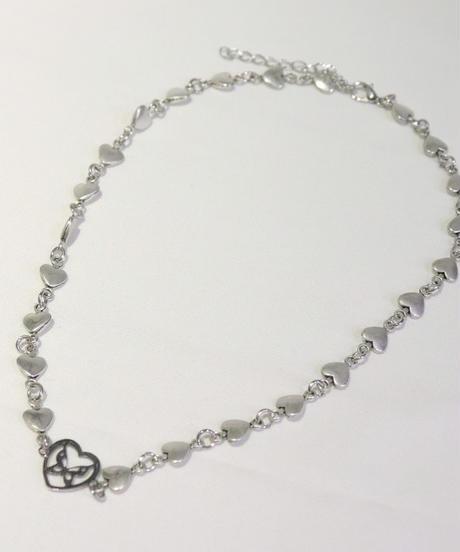 バタフライハートネックレス(NO.A10127)