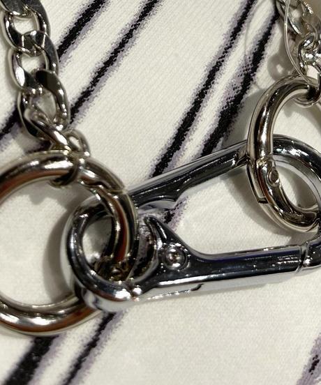 フック×リングネックレス(NO.A10148)