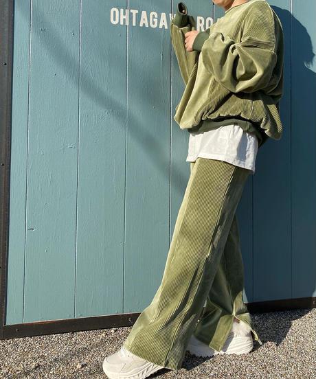 ☆即納☆velours&corduroy pants