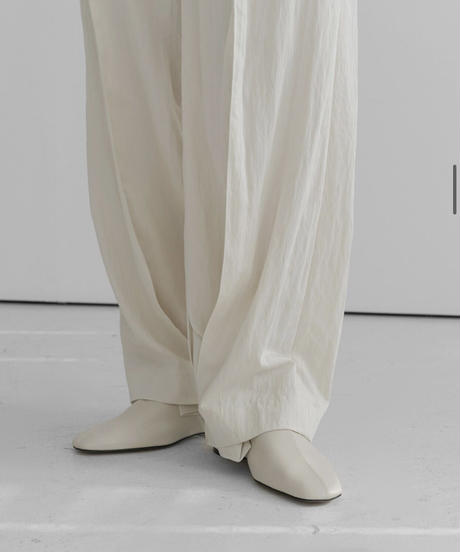 wash matted  pants