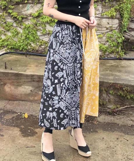 bandanna skirt/3 color