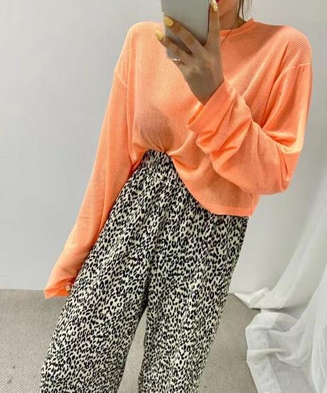 leopard  pants/2 color