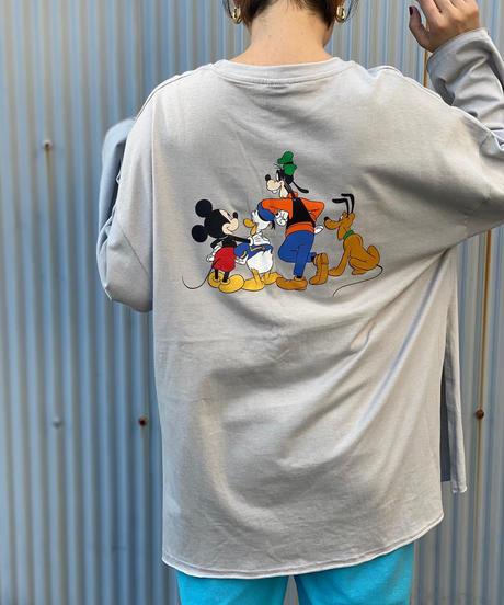 Back print Disney longスリーブ