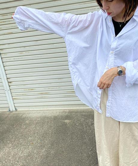ギャザーover sherbet shirt/7 color
