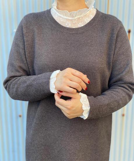 ☆即納☆charcoal Knit one-piece