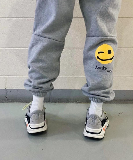 Smile center press pants